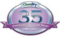 Chem Dry 35 year logo
