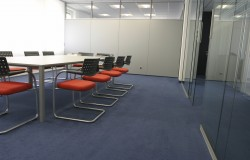 carpet cleaning in office picture