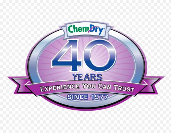 picture of chem-dry logo 40 years in business
