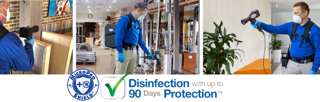 Sanitising Service Dublin Plus Residual Antimicrobial Protection for up to 90 days to help keep your home or business safe and open!